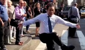 YouTube sensation Q Park's impromptu dance videos will get you ROFL-ing, New Yorkers give him strange looks