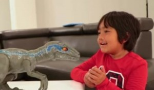 7-year-old boy becomes 2018's highest paid YouTube star for reviewing toys