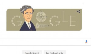 Google honours Noble Laureate Lev Landau with a Doodle