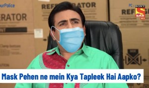 Nagpur Police share Taarak Mehta Ka Ooltah Chashmah meme for COVID-19 awareness. Twitterati react